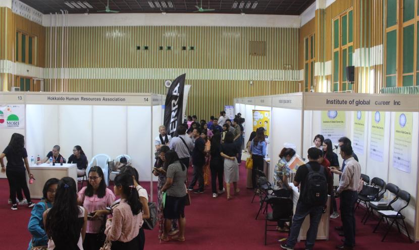 ジョブフェア ヤンゴン工科大学